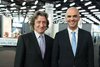 Mr. Alain Berset, Federal Councillor, Geneva Book and Press Fair, April 2015.