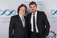 Mr Stan Wawrinka, Cansearch Charity Event, september 2017. (Picture by Ms Carole Parodi)